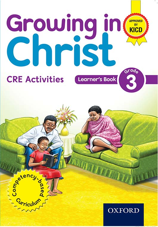 Growing in Christ Learner's Book 3